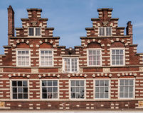 Traditional dutch buildings Royalty Free Stock Photos