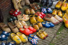 Traditional Dutch Clogs Stock Images