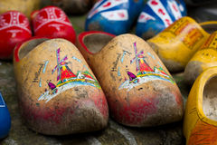 Traditional Dutch Clogs Stock Photos