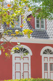 Traditional Dutch colonial style building Royalty Free Stock Photo