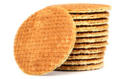 Traditional Dutch Cookies Royalty Free Stock Photography