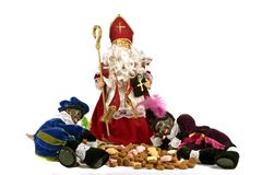 Traditional dutch culture: Santa Claus feast Stock Photography