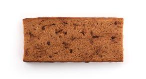 Traditional Dutch dessert cake (ontbijtkoek) Royalty Free Stock Images