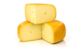 Traditional Dutch Gouda cheese Royalty Free Stock Images