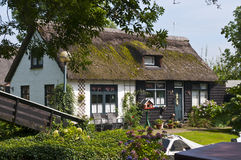 Traditional dutch house Royalty Free Stock Images