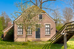 Traditional Dutch house Stock Images