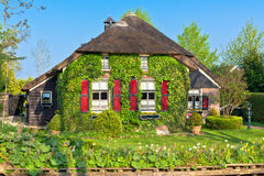 Traditional Dutch house Stock Image
