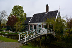 Traditional Dutch house Royalty Free Stock Photos