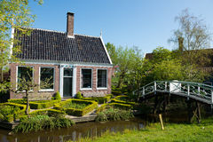 Traditional dutch house Stock Photography