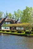 Traditional Dutch houses Stock Photography