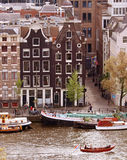 traditional dutch houses Stock Image