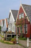 Traditional Dutch houses in Durgerdam Royalty Free Stock Photos