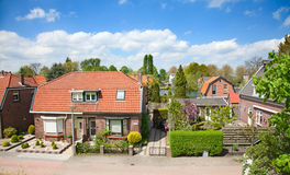 Traditional dutch houses Stock Photos