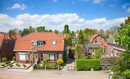 Traditional dutch houses Stock Photos