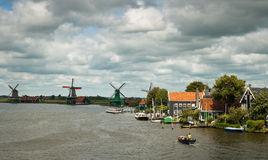 Traditional Dutch landscape. Stock Photos