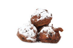 Traditional dutch oliebollen Royalty Free Stock Image