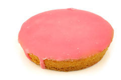 Traditional Dutch pink glazed cake Stock Image