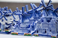 Traditional Dutch souvenirs for tourists Stock Images