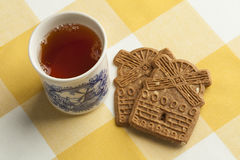 Traditional dutch speculaas cookies Royalty Free Stock Image