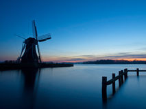 A traditional dutch windmill Stock Photo