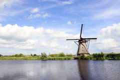 Traditional dutch windmill in the Netherlands Royalty Free Stock Photo