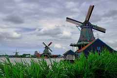 Traditional Dutch Windmill Royalty Free Stock Image