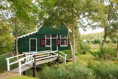 Traditional Dutch Wooden house Royalty Free Stock Photography