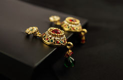 Traditional Earrings Stock Photography
