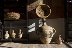 Traditional earthenware in Morocco, Africa Stock Images