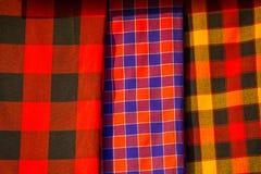 Traditional east african fabrics Stock Photos