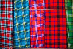 Traditional east african fabrics Stock Photo