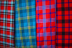 Traditional east african fabrics Stock Photography