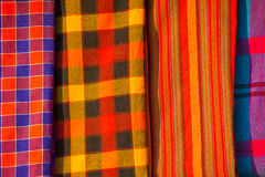Traditional east african fabrics Royalty Free Stock Photography