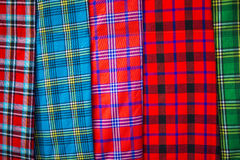 Traditional east african fabrics Royalty Free Stock Photo