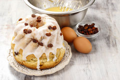 Traditional easter cake Stock Images