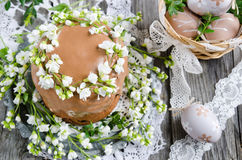 Traditional easter cake Stock Photography