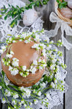Traditional easter cake Royalty Free Stock Image