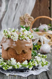 Traditional easter cake Royalty Free Stock Photo