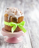 Traditional Easter cake. Royalty Free Stock Images