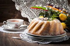 Traditional easter cake. Stock Images