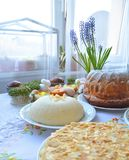 Traditional Easter cakes Stock Photography