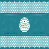Traditional easter card Royalty Free Stock Photo