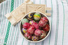Traditional Easter Eggs Stock Images