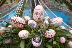 Traditional Easter Fountain II Royalty Free Stock Image