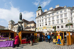 Traditional Easter Market In Vienna Royalty Free Stock Photo