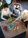 Traditional Easter preparations Royalty Free Stock Photography