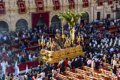 Traditional Easter procession in Andalusia Stock Images