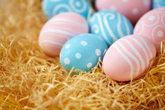 Traditional Easter symbols Royalty Free Stock Image