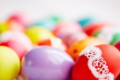 Traditional Easter symbols Stock Photos
