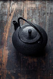 Traditional eastern teapot Stock Photo